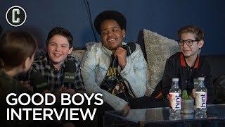 Good Boys Cast Interview: Jacob Tremblay, Brady Noon, Keith L. Williams