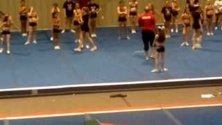 12-16-13 Renee's tumbling pass. First night putting this together.