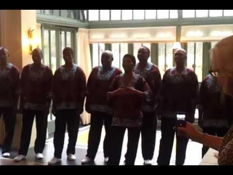 Khayelitsha United Mambazo Choir zingt Afrikaans volkslied
