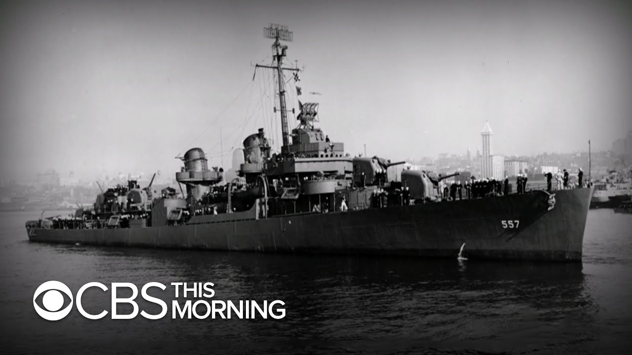 USS Johnston Uncovered after nearly 80 Years