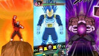 Dragon Ball Z: Dokkan Battle - NEW Super Attacks! Vegeta Blue Evolution, God of Destruction Toppo!