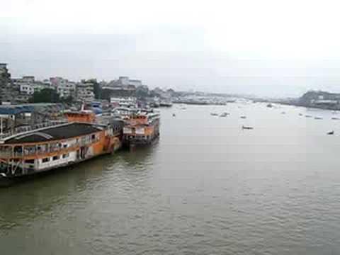 Port area in Dhaka