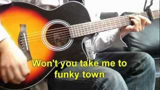 Funky town - Lipp's,Inc (Guitar cover remixed)