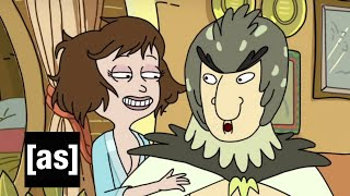 Bird Person Perspective | Rick and Morty | Adult Swim