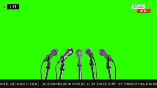 Layout de Jornal #4 - News Layout #4 / Green Screen - Chroma Key