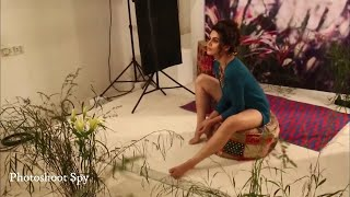 Taapsee Pannu Hot Photoshoot making video width=