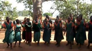 The Children of Kinyambu School Sing for us.
