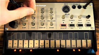 Korg Volca Keys beautiful arps! (and 128-note sequence)