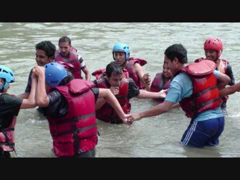 rafting in bhotekoshi river nepal.wmv