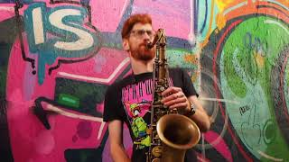 Burna Boy - On The Low - Sax Cover 2019