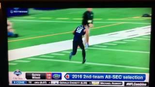 Quincy Wilson 2017 NFL Combine Highlights