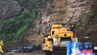 River Road Land Slip Project Delay 14.12.15