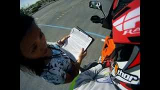 GoPro DMV LAS VEGAS NV Motorcycle Skills Test