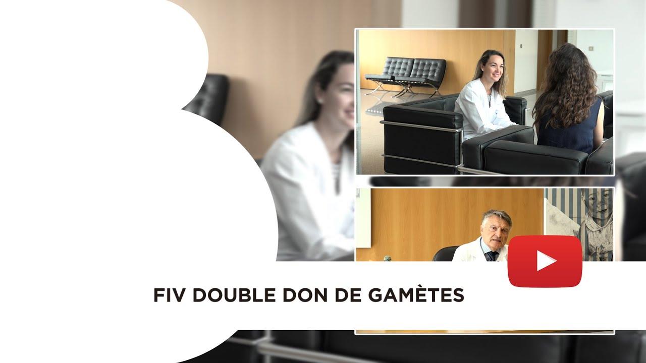 FIV double don de gamètes