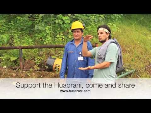 Huaorani Ecolodge the end of the journey Toxic Tour