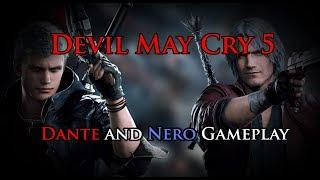DMC5 - Dante and Nero Gameplay