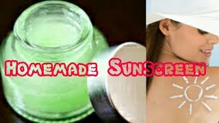 Homemade natural sunscreen using only 2 ingredients with out zink oxide | Summer skin care tips| width=