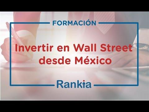 Te mostramos como invertir en Wall Street desde México. Las posibilidades actuales han permitido crecer mucho al mercado.