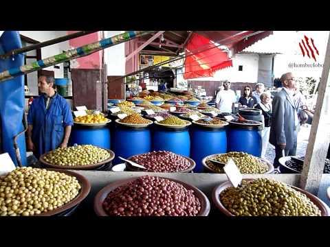 Mercado de la oliva en Casablanca [#cruceroXYO e43]