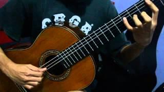 Teknik speed gitar klasik - Mas Abdul Aziz