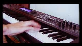Deep Purple - Burn Solo (Keyboard cover)