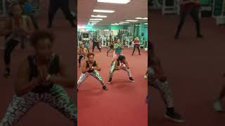 Fall N by Chingy Fitness Line Dance