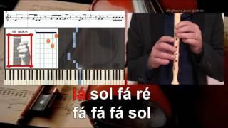 Rockabye  Notas para flauta, piano, acordes para guitarra Educação Musical José Galvão