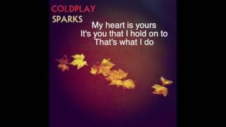 sparks by coldplay lyrics