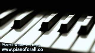 Pharrell Williams - Happy [MIDI + Sheet Music]