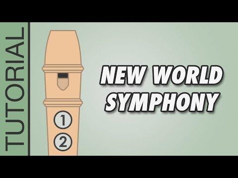 Jouer la symphonie du nouveau Monde de Dvorak à la flûte