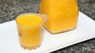 عصير الجزر و الياغورت مع طبخ ليلى  Le jus de carotte et yaourt