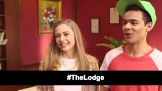 Interview: Sophie Simnett + Joshua Sinclair-Evans | The Lodge (The Fan Carpet)