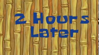 2 Hours Later | SpongeBob Time Card #84