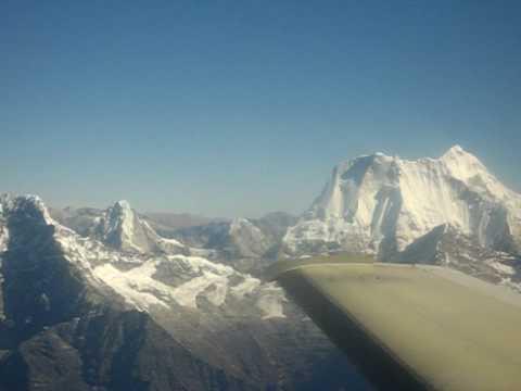 mountain flight over the Everest region – part 2.