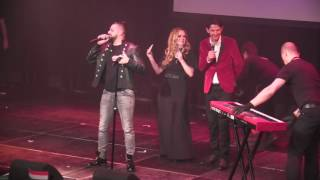 ESCKAZ in Amsterdam: Joci Pápai (Hungary) - Origo with audience (at Eurovision In Concert)