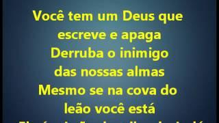 Abra o seu Coração - Elaine de Jesus (playback legendado)