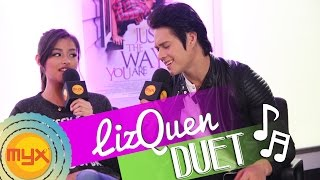 Watch Liza Soberano and Enrique Gil sing a very sweet duet!