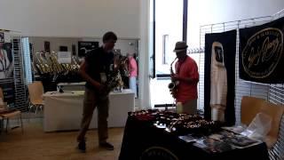 Derek Brown & Jody Espina @ Sax Open 2015 - Summertime
