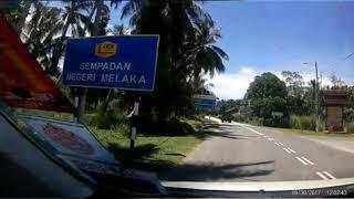 Cuti cuti JJCM - Ziyyad ke Melaka - day 1 - 30.9.2017