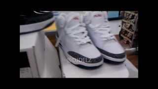 Fubu White Cement 3 Sneaker