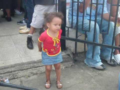 Little Girl Dancing Nicaragua.AVI