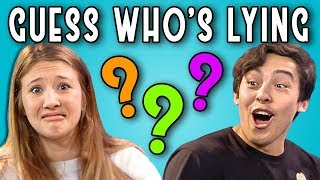 CAN YOU GUESS WHO'S LYING? | Poker Face (REACT) width=