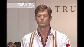 TRUSSARDI Spring Summer 2001 Menswear - Fashion Channel