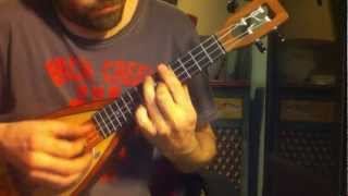 Perfect Day - Lou Reed // ukulele solo