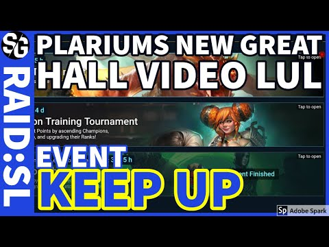 [RAID SHADOW LEGENDS] NEW PLARIUM VIDEO, EVENT, KEEP AT IT