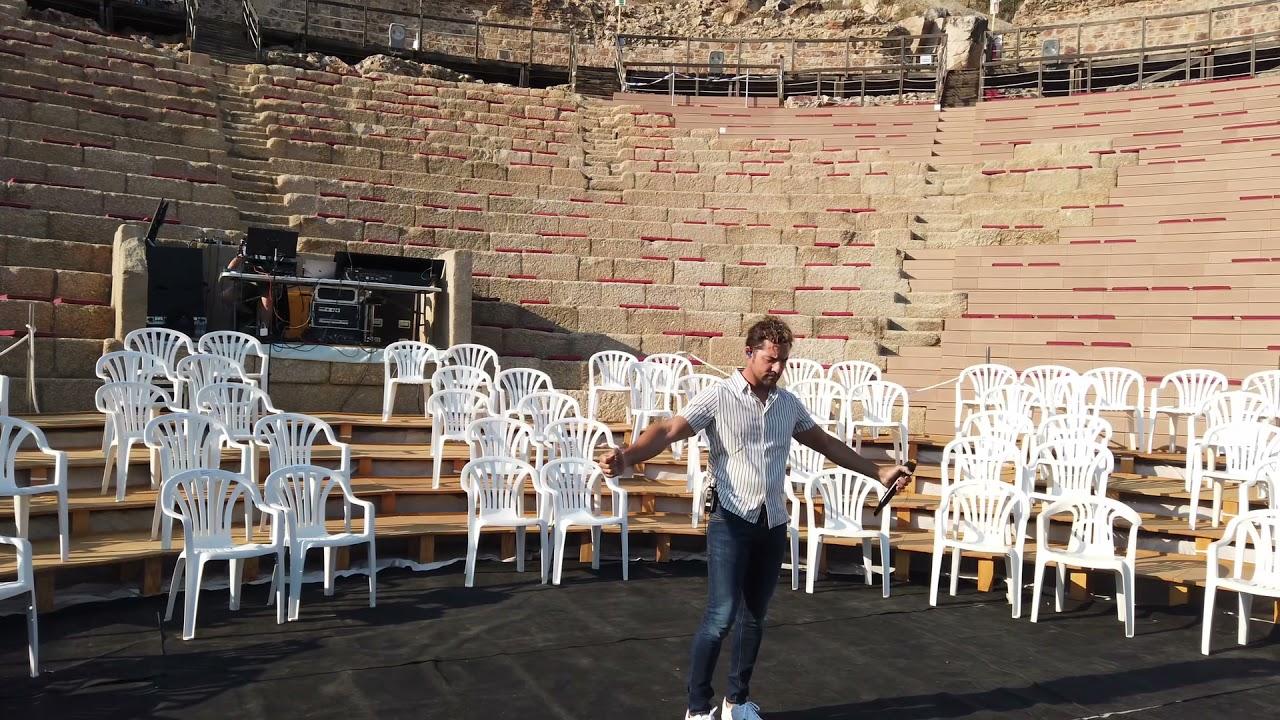 No Importa La Distancia (Anfiteatro romano de Medellín) - David Bisbal