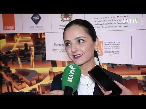 Video : Symposium de la Fibre optique et des Bâtiments connectés : Déclaration de Loubna Tricha