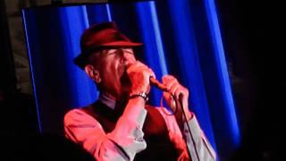 Leonard cohen in gent 12/8/12      I'm your man