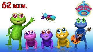 5 Little Speckled Frogs Song and More Popular Nursery Rhymes Collection for Kids | Mum Mum TV