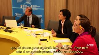 CBF recebe chefe de futebol feminino da FIFA